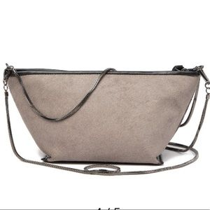 Christopher Kon Taupe After Party cross body